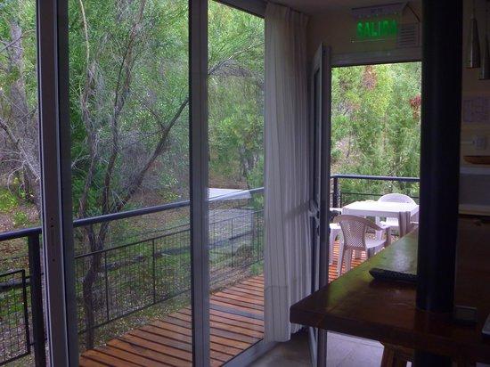Las Nalcas Mountain Resort & SPA: Salida hacia el deck