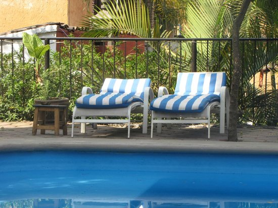 Hotel Teocalli: camastros
