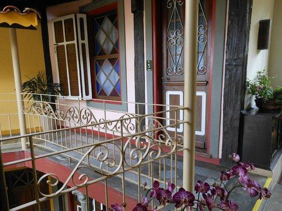 Porto Pacuiba Hotel: Frente do Quarto 5 Siriúba