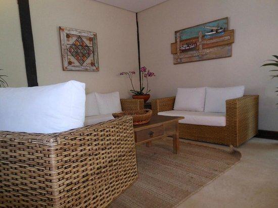 Porto Pacuiba Hotel: Sala de Estar do Hotel