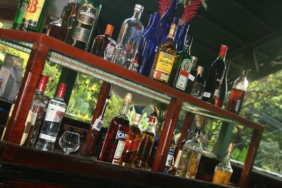 Coconuts Restaurant & Bar: liquor selection