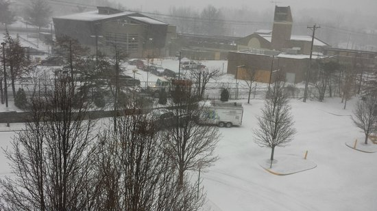 Hilton Garden Inn Fairfax: A view from room 354 (3-3-2014)