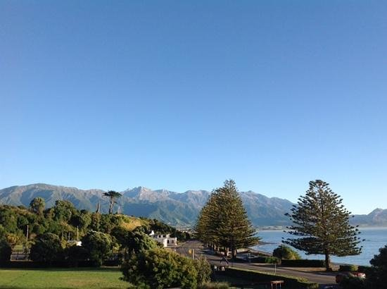 Kaikoura Apartments : Waking up to this? Yes please!