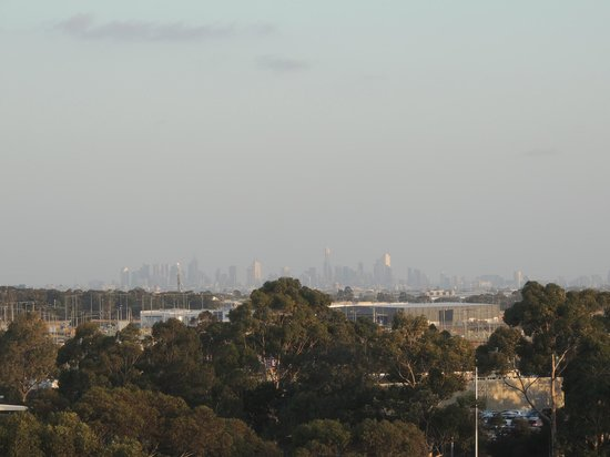 Holiday Inn Melbourne Airport: Room 619 with a VIEW!