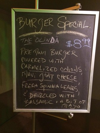 Stewz Maui Burgers: Love this daily special for. $ $ 8.99