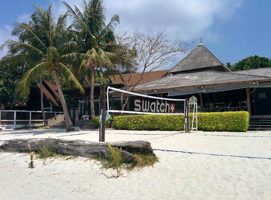 Cocohut Beach Resort & Spa: beach volley court