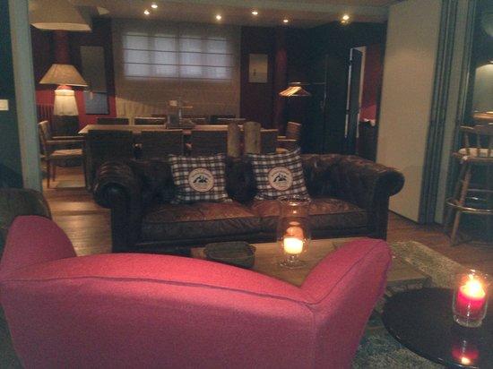 Hotel Restaurant des Isles : Salon