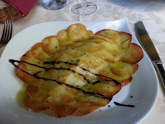 Hostaria Le Repubbliche Marinare: Orata al forno in crosta di patate!!leggero semplice e gustosoo!