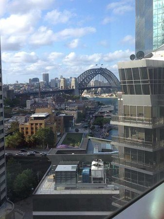 Sydney Harbour Marriott Hotel at Circular Quay: Double Room View