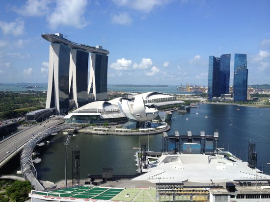 The Ritz-Carlton, Millenia Singapore : View from our suite