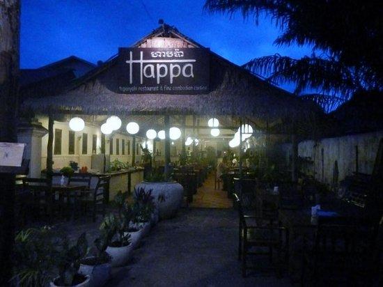 Happa's Restaurant: 外観