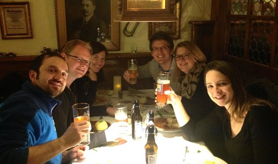 History, Hops and Monks Tours: end of the Tour. Tasty.