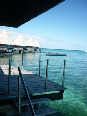 L'Escapade Island Resort : View from the room