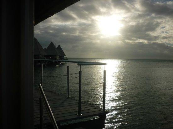 L'Escapade Island Resort : A nice sunset!