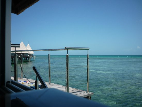 L'Escapade Island Resort : Views from the room - magnificent!
