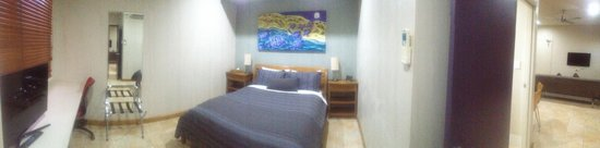 Samson Beach Chalets: 1 bedroom self contained chalet bedroom
