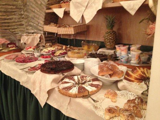Boutique Hotel Trevi: petit déjeuner