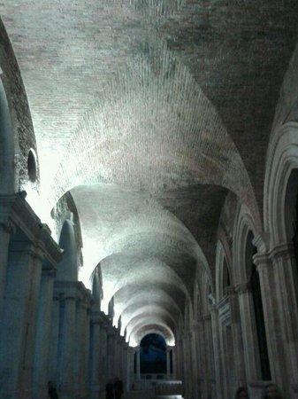 I portici della Basilica Palladiana.