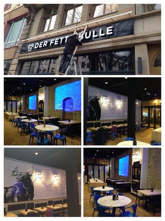 Photo of American Restaurant Der Fette Bulle at Kaiserstr. 73, Frankfurt 60329, Germany