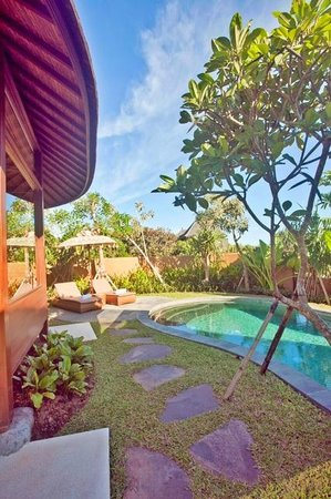 WakaGangga : My villa, the nearest to the receptionist/lobby