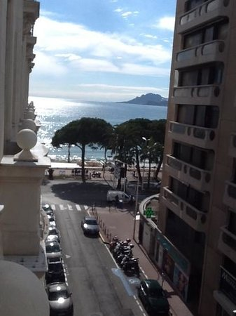 InterContinental Carlton Cannes : view from room 317