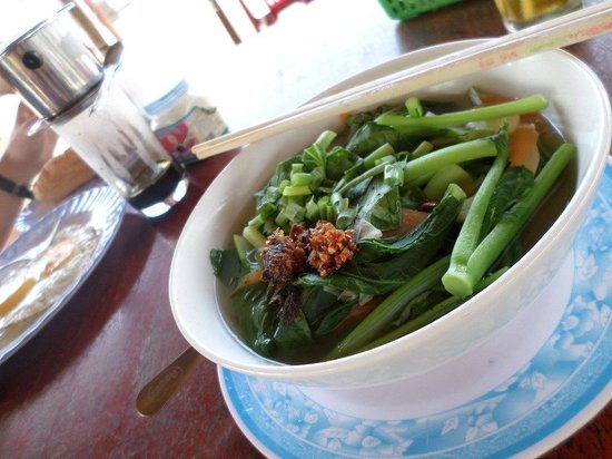 Thai Tan Tien Resort: Breakfast noodle soup