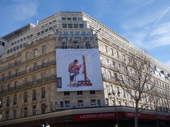 Hôtel Ibis Styles Paris Saint Lazare : Lafayette