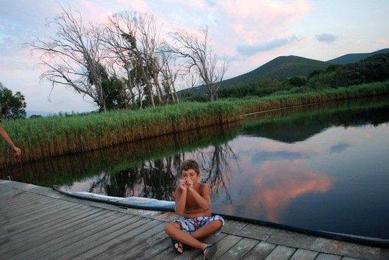 Camping Village l'Ostriconi: percorso per il mare