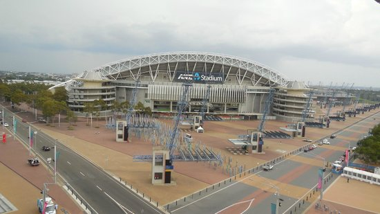 Novotel Sydney Olympic Park: Room 737 - ANZ Stadium