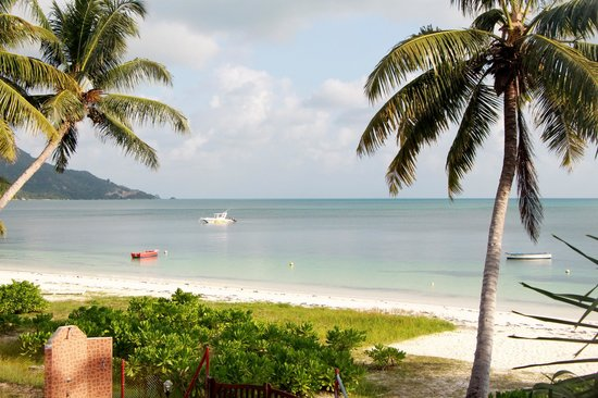 "Le Tropique Villa: Hotellets ""egen"" strand"