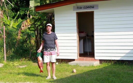 Le Tropique Villa : Fisken skall rensas