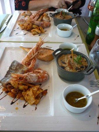 Restaurant Le Chalet du Parc : Parilladas
