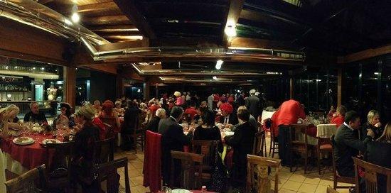 Ristorante Pizzeria Green : Panoramica dei partecipanti nel bellissimo ristorante discoteca