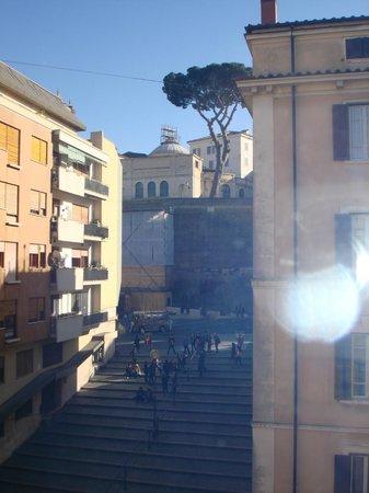 PapavistaRelais: Vista sull'ingresso dei Musei Vaticani