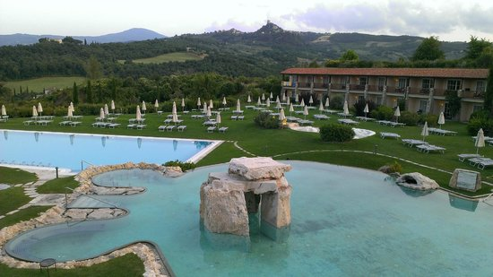 Hotel Adler Thermae Spa & Relax Resort: Camere e piscine