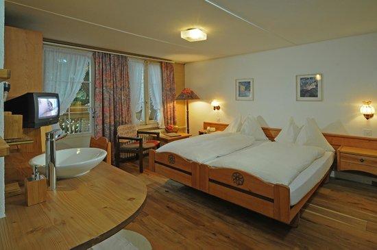 Hotel-Restaurant Alpenblick: Doppelzimmer Kategorie Alpenglück