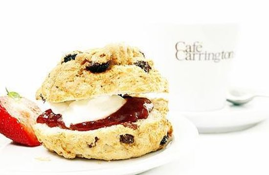 Cafe Carringtons: Our infamous scones