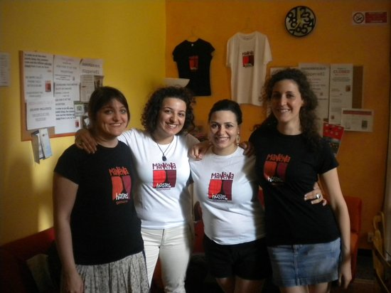 Manena Hostel : Nice guests