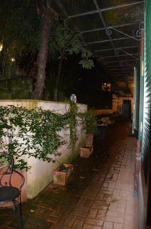 Villa Magnolia Relais: Terrace