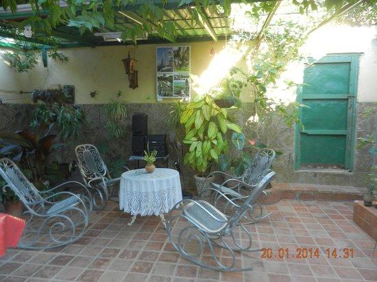 Casa Mario y Damaris : GIARDINO INTERNO