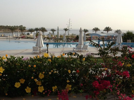 Brayka Bay Reef Resort: vista dal ristorante