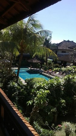 Bakung Sari Resort and Spa: Pemandangan dari balkon