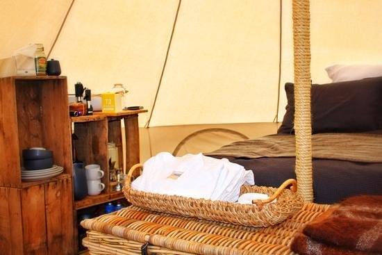 Cosy Tents: Luxury camping, glamping