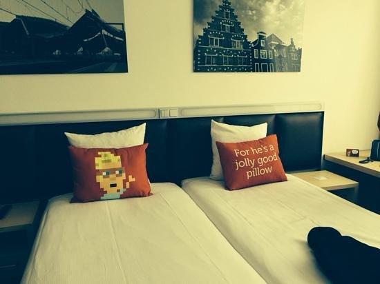Hotel Casa 400: de slaapkamer