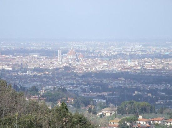 Bigallo Hostel: Vista su Firenze