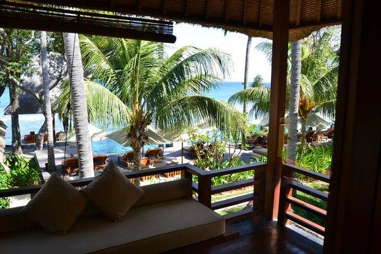 Qunci Villas Hotel : balcon