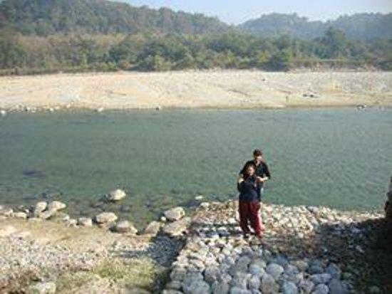 Club Mahindra - Corbett: river side photo clicked from the resort