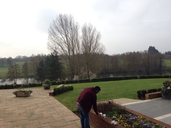 Stoke by Nayland Hotel, Golf & Spa: View from the Resteraunt.