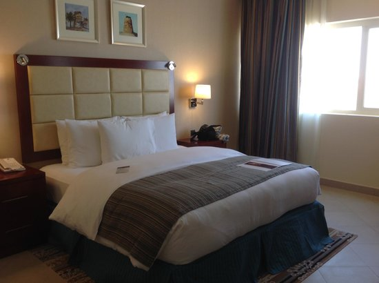 Doubletree by Hilton Ras Al Khaimah: our bed