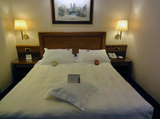 Hotel Berna: Номер и приветствие